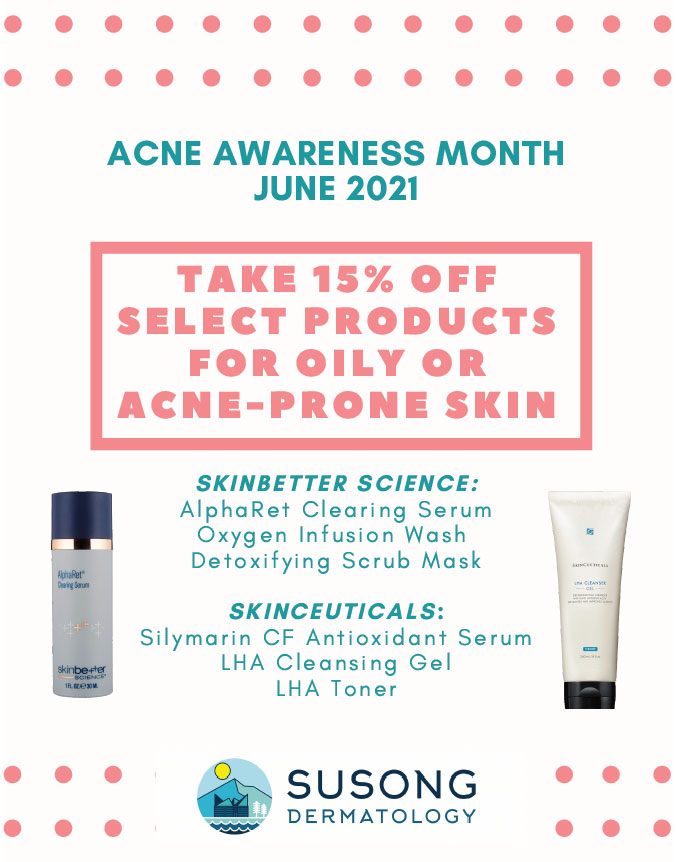 June is ACNE Awareness Month